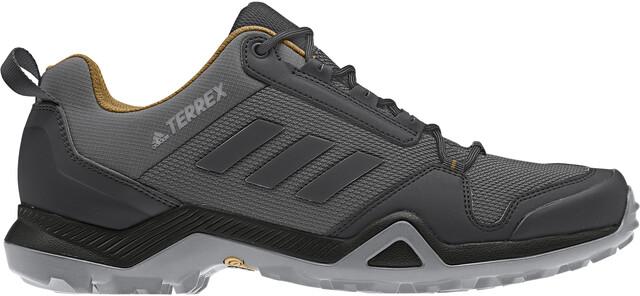adidas TERREX AX3 Sko Herrer, grey fivecore blackmesa